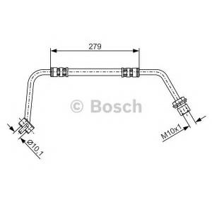 BOSCH 1987476506 Rubber brake hose
