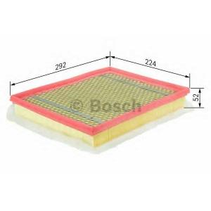 BOSCH F026400012 Повітряний фільтр 0012 OPEL Astra,Zafira 1,6-1,9 04-