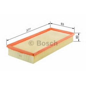 BOSCH F026400051 Фильтр воздушный RENAULT Clio, Kangoo 1.5DCI 01-
