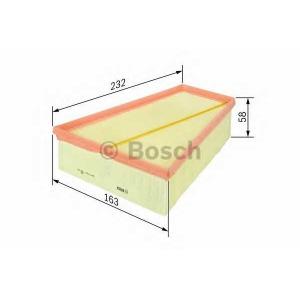 f026400126 bosch Воздушный фильтр NISSAN X-TRAIL вездеход закрытый 2.0 dCi FWD