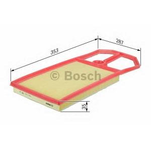 BOSCH F026400148 Повітряний фільтр вставка BMW 3/5 N54B30A E90/E60 ''08>>