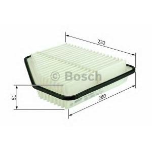 BOSCH F026400162 Фільтр повітряний