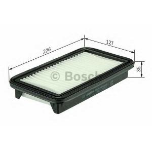BOSCH F026400201 Повітряний фільтр SUZUKI SX4 \1.5-1.6 \06>>