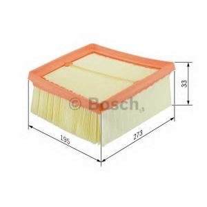 BOSCH F026400216 Повітряний фільтр - заміна на F026400389
