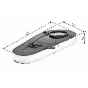 BOSCH F026400365 Повітряний фільтр 0365 BMW 5/ 7