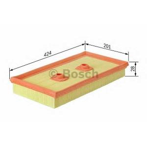 BOSCH F026400482 Повітряний фільтр MERSEDES ML300-350 W166/S350CGI W221/E300-E350 W212 M276