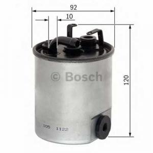 BOSCH F026402003 Паливний фільтр 2003 MB Sprinter 00-