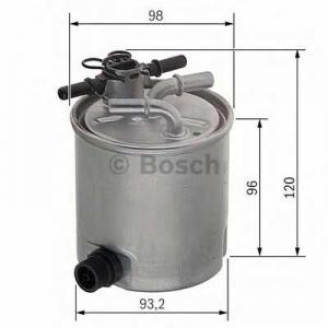 BOSCH F026402019 Паливний фільтр 2019 DACIA/RENAULT Logan 1,5 05-