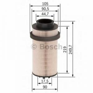Топливный фильтр f026402031 bosch - DAF CF 85  FAC 85.430