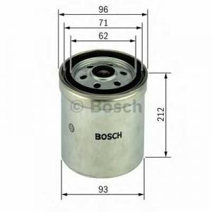 Топливный фильтр f026402035 bosch - IVECO Trakker  AD 260T33, AD 380T33, AT 260T33, AT 380T33