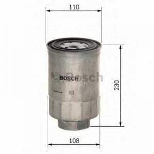 Топливный фильтр f026402038 bosch - DAF CF 85  FAC 85.430