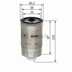 BOSCH F026402048 Паливний фільтр 2048 ALFA ROMEO/FIAT/LANCIA 147,156,Doblo 01-