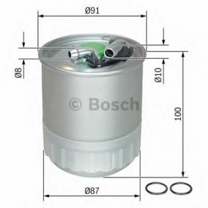 BOSCH F026402056 Паливний фільтр 2056 JEEP,MB Grand Cherokee,C,CLS,G,Sprinter 03-