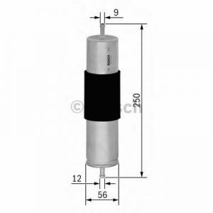 BOSCH F 026 402 066 Топливный фильтр