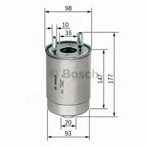Топливный фильтр f026402067 bosch - RENAULT MEGANE III Наклонная задняя часть (BZ0_) Наклонная задняя часть 1.5 dCi