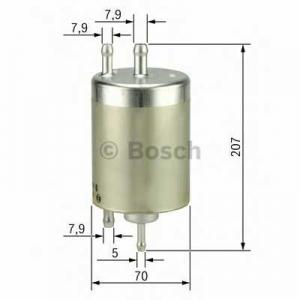 BOSCH F026403000 Паливний фільтр 3000 BMW X5 3,0-4,8 -06