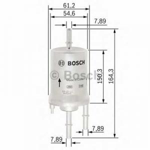 BOSCH F026403006 Паливний фільтр 3006 AUDI/SEAT/SKODA/VW Caddy,EOS,Golf,Jetta,Polo,Touran,Fabia,Roomster,A3,TT 98-