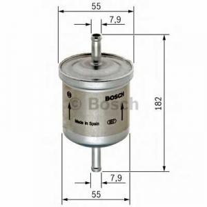Топливный фильтр f026403009 bosch - FORD C-MAX II вэн 1.6 Ti
