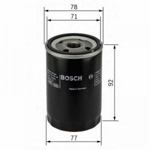 Масляный фильтр f026407017 bosch - FORD FOCUS II (DA_) Наклонная задняя часть 1.8 TDCi
