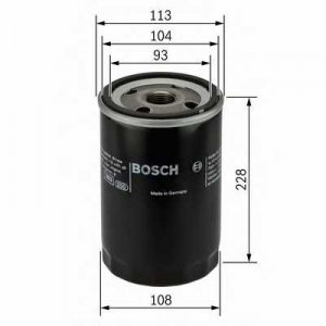 BOSCH F026407048 Масляний фільтр 7048 Iveco Eurotech, Stralis
