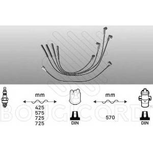 BOUGICORD 4060 Ккомплект проводов зажигания
