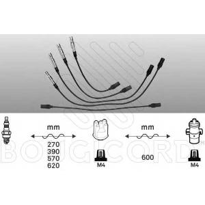 BOUGICORD 4100 Ккомплект проводов зажигания