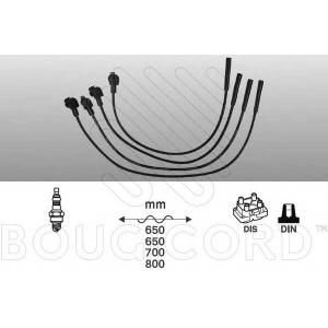 BOUGICORD 4149 Свечные провода к-т