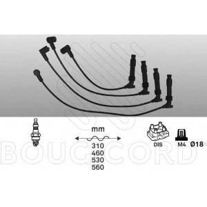 BOUGICORD 4163 Ккомплект проводов зажигания