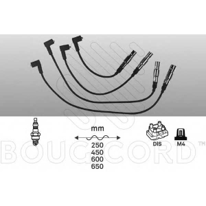 BOUGICORD 4173 Ккомплект проводов зажигания