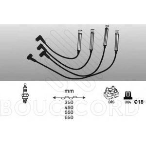 BOUGICORD 7215 Ккомплект проводов зажигания