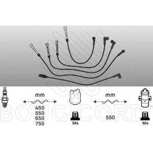 BOUGICORD 7248 Ккомплект проводов зажигания
