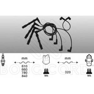 BOUGICORD 9235 Ккомплект проводов зажигания