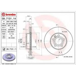 BREMBO 09.7131.14 Тормозной диск Brembo