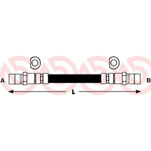 BREMBO T59002 Тормозной шланг