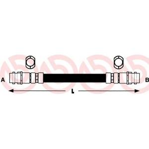 BREMBO T85027 Тормозной шланг