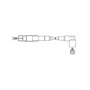 BREMI 15080 Провод высоковольтный