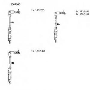 BREMI 206P200 Комплект проводів AUDI/SKODA/VW \1,6 \00>>