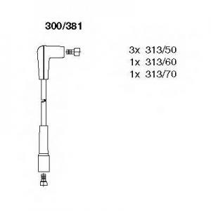 BREMI 300/381 Провода высоковольтные