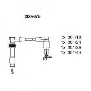 BREMI 300/675 Комплект проводів OPEL \1,8-2,0 \93-00