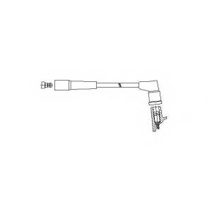 BREMI 311/80 Провод высоковольтный