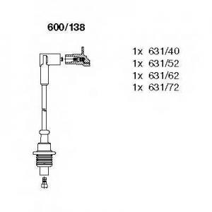 BREMI 600/138 Комплект проводів CITROEN/FIAT/PEUGEOT \1,6-1,8 \94>>