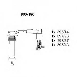 BREMI 800/190 Комплект проводів FORD Focus/Mondeo/Transit \1,6-2,0 \98-04