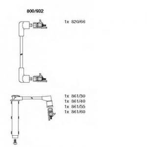 BREMI 800/932 Комплект высоковольтных проводов