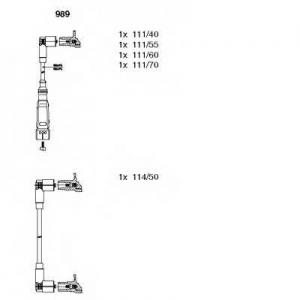 BREMI 989 Ккомплект проводов зажигания