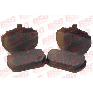 BSG BSG 30-200-011 Колодки пер. >91 (длин) 2-х порш.