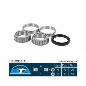 BTA H15005BTA Підшипник колеса,комплект
