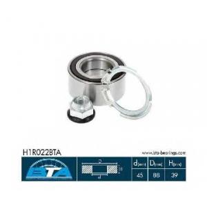BTA H1R022BTA Подшипник передней ступицы Trafic/Vivaro 12/02-> Espace4/Vel Satis (45x88x39)