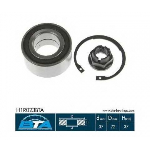 BTA H1R023BTA Підшипник колеса,комплект