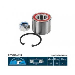 BTA H2R016BTA Підшипник колеса,комплект