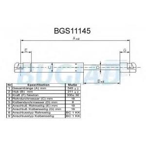 BUGIAD BGS11145 Амортизатор багаж